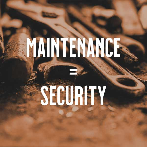 WordPress Maintenance is WordPress Security